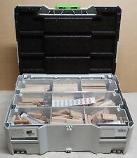 Festool 498204 Domino XL 8mm/10mm Tenon and Cutters Assortment