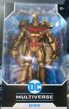 "McFarlane DC Multiverse Batman Hellbat Suit GOLD Edition 7"" Figure New Sealed"