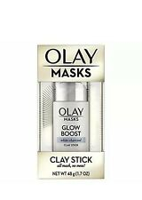 OLAY MASKS GLOW BOOST WHITE CHARCOAL CLAY STICK 48g (1.7-OZ)