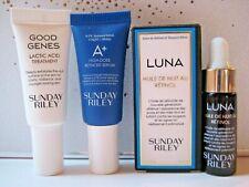 NEW Sunday Riley Good Genes Luna Night Oil Power Couple & A+ serum, Sample Set 3