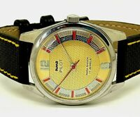 vintage hmt refurbished machanical watch good looking