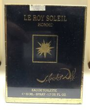 LE ROY SOLEIL HOMME by SALVADOR DALI 3.4 oz 100 ml EDT SPRAY MEN NEW