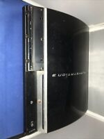 Sony PlayStation 3 PS3 Fat CECHL01 80GB Black Console Only Tested Works.