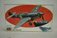 Vintage Revell P-40E Flying Tiger 1:48 Scale Model