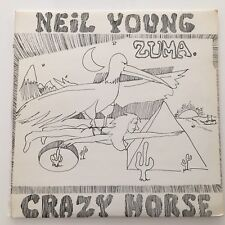 Neil Young Zuma Made In UK Original Press w/Insert K54057