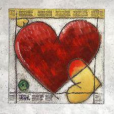 Ria Heart I póster son impresiones artísticas imagen 60x60cm