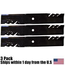 "Wright 52"" Stander Blade Gator Mulching Lawn Mower Blades 71440001 3 Pack"