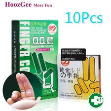 Lots 10Pcs Condoms Sexual Health Latex Condoms Finger Sleeve Condom Sex Products