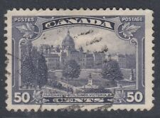 "Canada Scott #226 50 cent Parliament  ""KGV Pictorial"" F"
