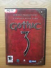 Gothic 3 (PC Windows UK, 2006)