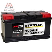 LANGZEIT Autobatterie 12V 100AH 840A - ersetzt 88AH 90AH 92AH 95AH AUDI BMW