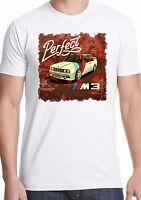bmw t-shirt e30 3 series M3 power performance car m6 m4 m2 retro straight six