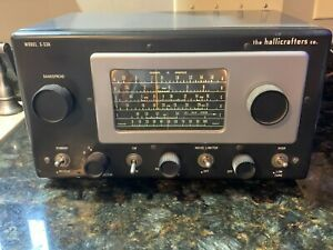 Hallicrafters S-53A Broadcast Shortwave Ham Radio Receiver 540Khz 54.5Mhz 5 Band