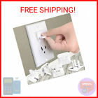 Outlet Covers Babepai 38-Pack White Child Proof Electrical Protector Safety  …