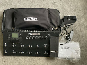 Used Line 6 POD HD500X With Gig Bag Hd 500 Fx Pedal Effects