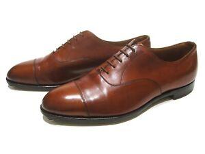 VTG Edward Green Chelsea Chestnut Oxford Shoes Scarpe Size UK 8,5 E 202 Last