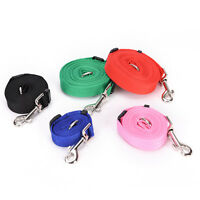 Durable Long Pet Dog Puppy Training Nylon Recall Lead Leash Traction Rope  RDNH