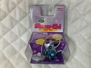 NEW 2000 Meow-Chi Mini Pet Push Button Cat Blue Robo-Chi Tiger Electronics