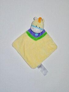 Ergee Kik ESEL Pferd gelb & grün mit Stern Kuscheltuch Schmusetuch Schnuffeltuch