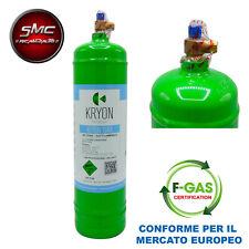 BOMBOLA GAS REFRIGERANTE R134A 2 KG 2,5 LITRI CLIMATIZZATORE AUTO CONDIZIONATORE