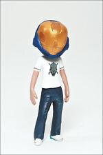 Halo Avatar Series 2 Figure by McFarlane - Blue Eva Helmet and Legendary Tee