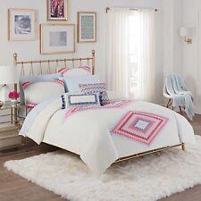CUPCAKES & CASHMERE Twin/Twin XL Comforter & Sheet Set Pink Purple & Blue NEW