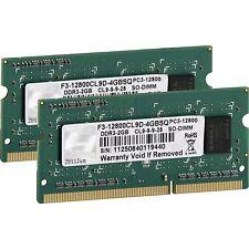 G.Skill SO-DIMM 4 GB DDR3-1600 Kit, Arbeitsspeicher