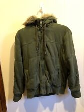 Men's American Eagle Quilted Jacket Coat Size XL
