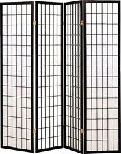 Coaster Home Furnishings 4 Panel Folding Screen - Black/White