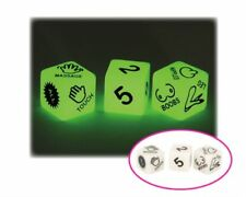 USA Seller Erotic Bachelor Bachelorette Party Game Glow In Dark Couple Play Dice