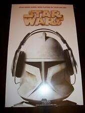 Star Wars Celebration VI 6 DK books Clone Trooper headphones art print poster