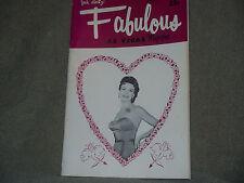 Fabulous Vegas Magazine Jayne Mansfield Ginger Rogers Walter Pidgeon 2/15/1958