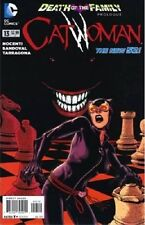 variant CATWOMAN 13 2nd print DEATH of the FAMILY prologue DC NEW 52 ANN NOCENTI