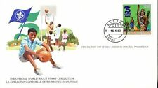 Bissau-Guinean First Day Cover Topical Postal Stamps