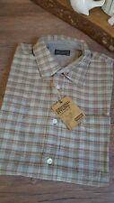 * Wrangler Herren Hemd Shirt kurzarm kariert grau rosa rot Gr. M NEU ***