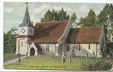 Hampshire Postcard - Chilbolton Church - Near Stockbridge    BR816