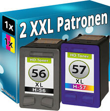 TINTE PATRONEN für HP 56 + 57 XL PHOTOSMART 7450 7550 7660 7760 7960