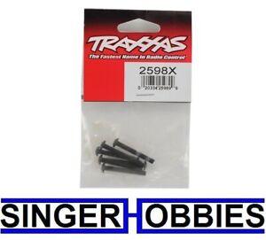Traxxas 2598x Screws 4x30mm button-head machine hex drive (6) NEW TRA2598x TRA1