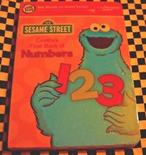 Tag Junior Book, Sesame Street Cookie Monster (2010, Book, Other)