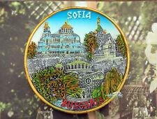 Bulgarien Sofia Reiseandenken Reise Souvenir 3D Kühlschrankmagnet Magnet