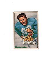 1951 Bowman LEON HART #26 VG VG/EX--Lions!!