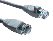 Link-Tech CAT 6 Highspeed Ethernet Booted Patch Cables 50-foot White