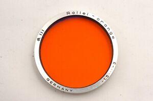 @ Ship in 24 Hours! @ Rare! @ Rollei - Orange -1.5 -3 III Bayonet B3 Lens Filter