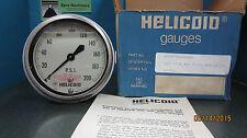 HELICOID PRESSURE GAUGE E1P3F5A2AX000 310 SSFM 4BK 0/2000 PSI