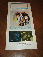 Locandina 1978 Renaldo and Clara,Sara Dylan,Joan Baez, BOB DYLAN Rolling Thunder