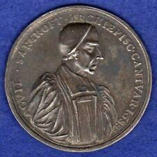 More details for great britain, james ii, 1688 archbishop sancroft silver medal (ref. c8031)