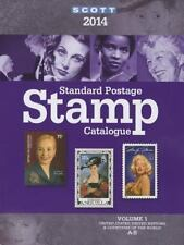 Scott Standard Postage Stamp Catalogue 2014: United States and-ExLibrary