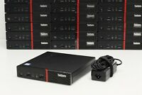 Lenovo ThinkCentre M900 Tiny Form Factor Micro PC Barebone w/ Power Adapter Wifi