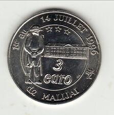 MALIJAI 3 EURO   superbe revers !