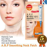 MEDIHEAL A.R.P Soothing Neck Wrinkle Patch 5pcs Neck Line Patch Neck Mask NEW